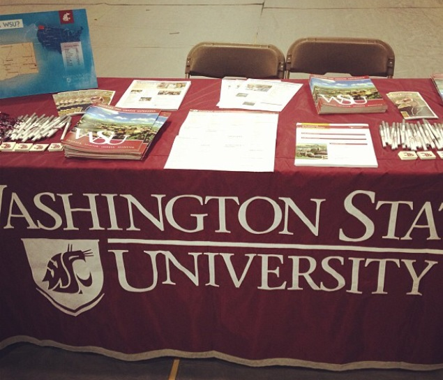 WSU Table Set Up Example
